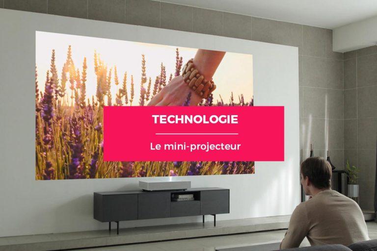 Changez votre manière de regarder des vidéos grâce à un mini projecteur